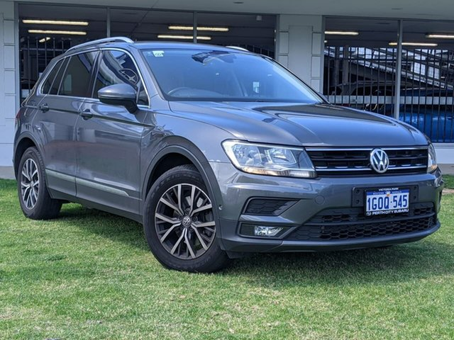 Used Volkswagen Tiguan 5N MY18 162TSI DSG 4MOTION Highline Victoria Park, 2018 Volkswagen Tiguan 5N MY18 162TSI DSG 4MOTION Highline Grey 7 Speed Sports Automatic Dual Clutch
