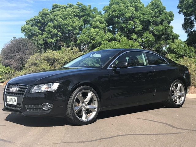 Used Audi A5 8T MY11 Quattro Enfield, 2011 Audi A5 8T MY11 Quattro Black 6 Speed Manual Coupe