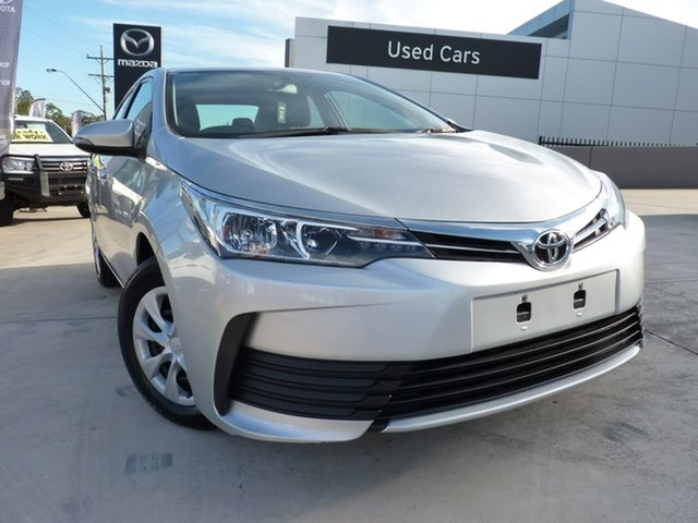 Pre-Owned Toyota Corolla ZRE172R Ascent S-CVT Blacktown, 2018 Toyota Corolla ZRE172R Ascent S-CVT Silver Pearl 7 Speed Constant Variable Sedan
