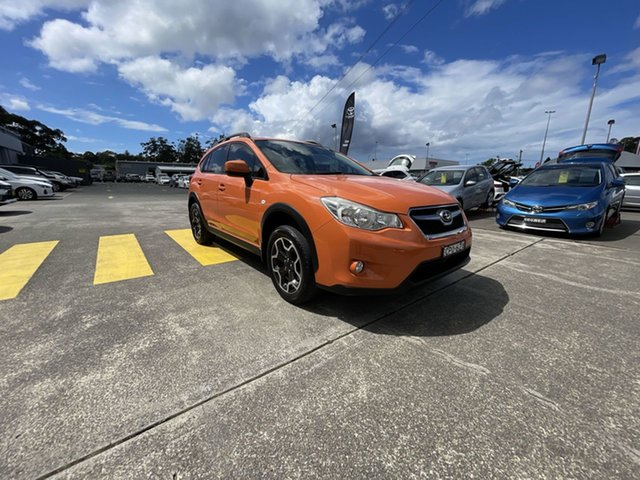 Pre-Owned Subaru XV G4X MY13 2.0i-L Lineartronic AWD Cardiff, 2013 Subaru XV G4X MY13 2.0i-L Lineartronic AWD Orange 6 Speed Constant Variable Wagon