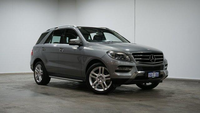 Used Mercedes-Benz M-Class W166 ML250 BlueTEC 7G-Tronic + Welshpool, 2014 Mercedes-Benz M-Class W166 ML250 BlueTEC 7G-Tronic + Palladium Silver 7 Speed Sports Automatic