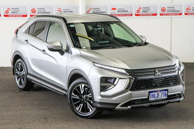 Pre-Owned Mitsubishi Eclipse Cross YB MY21 LS (2WD) Myaree, 2021 Mitsubishi Eclipse Cross YB MY21 LS (2WD) Silver Continuous Variable Wagon