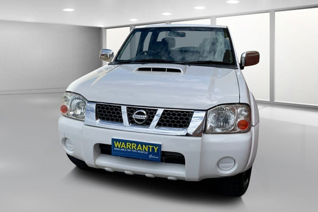 Used Nissan Navara D22 MY2010 ST-R West Footscray, 2010 Nissan Navara D22 MY2010 ST-R White 5 Speed Manual Utility