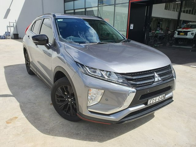 Used Mitsubishi Eclipse Cross YA MY19 Black Edition 2WD Liverpool, 2018 Mitsubishi Eclipse Cross YA MY19 Black Edition 2WD Silver, Chrome 8 Speed Constant Variable