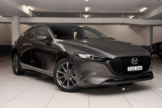 Demo Mazda 3 BP2H7A G20 SKYACTIV-Drive Evolve Waitara, 2021 Mazda 3 BP2H7A G20 SKYACTIV-Drive Evolve Bronze 6 Speed Sports Automatic Hatchback