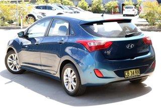 2014 Hyundai i30 GD2 MY14 Trophy Blue 6 Speed Manual Hatchback.