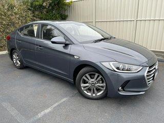 2016 Hyundai Elantra AD MY17 Active Iron Grey 6 Speed Sports Automatic Sedan.