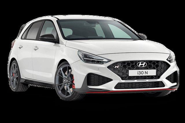 New Hyundai i30 N Cardiff, 2021 Hyundai i30 PDe.V4 N Polar White 8 Speed Automatic Hatchback