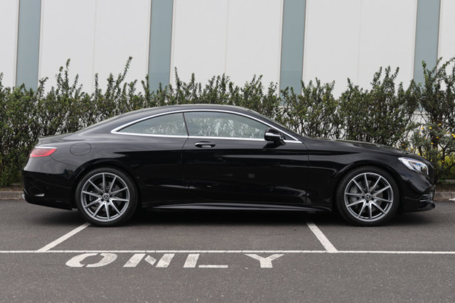 Certified Pre-Owned Mercedes-Benz S-Class C217 809MY S560 9G-Tronic Mulgrave, 2019 Mercedes-Benz S-Class C217 809MY S560 9G-Tronic Obsidian Black 9 Speed Sports Automatic Coupe