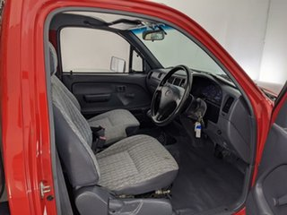 2004 Toyota Hilux RZN149R MY02 4x2 Red 5 Speed Manual Cab Chassis