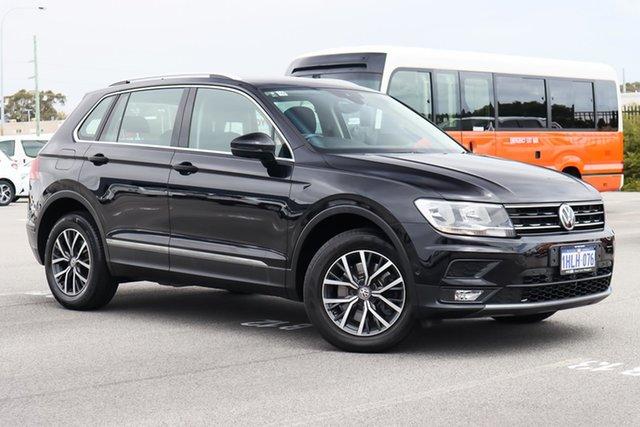Used Volkswagen Tiguan 5N MY18 132TSI DSG 4MOTION Comfortline Wangara, 2018 Volkswagen Tiguan 5N MY18 132TSI DSG 4MOTION Comfortline Black 7 Speed