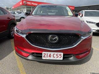2021 Mazda CX-5 Soul Red Crystal.