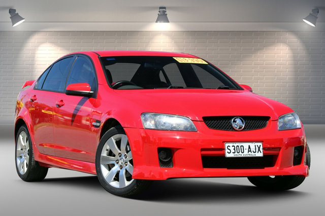 Used Holden Commodore VE SV6 Gepps Cross, 2008 Holden Commodore VE SV6 Red 5 Speed Sports Automatic Sedan