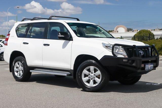 Used Toyota Landcruiser Prado KDJ150R MY14 GX Wangara, 2015 Toyota Landcruiser Prado KDJ150R MY14 GX White 5 Speed Sports Automatic Wagon