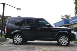 2015 Land Rover Discovery Series 4 L319 MY16 TDV6 Black 8 Speed Sports Automatic Wagon.