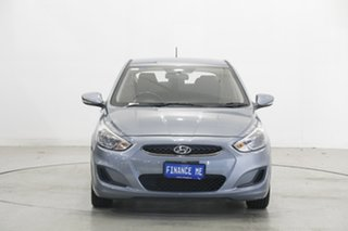 2018 Hyundai Accent RB6 MY19 Sport Silver 6 Speed Sports Automatic Sedan.