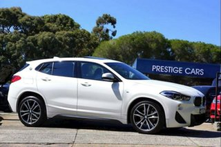 2019 BMW X2 F39 sDrive18i Coupe DCT M Sport White 7 Speed Sports Automatic Dual Clutch Wagon.