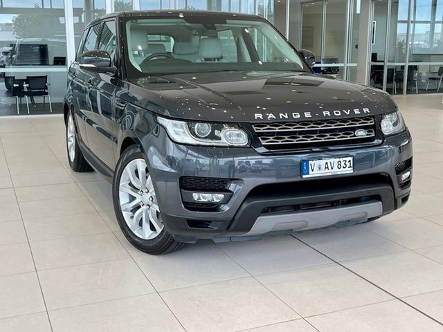 Used Land Rover Range Rover Sport L494 16MY SE Essendon Fields, 2016 Land Rover Range Rover Sport L494 16MY SE Black 8 Speed Sports Automatic Wagon