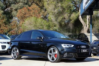 2020 Audi S3 8V MY20 S Tronic Quattro Black 7 Speed Sports Automatic Dual Clutch Sedan