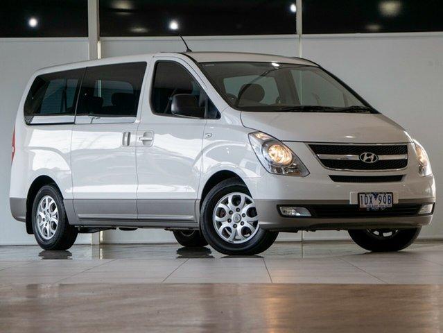 Used Hyundai iMAX TQ-W MY15 Deer Park, 2015 Hyundai iMAX TQ-W MY15 White 5 Speed Automatic Wagon