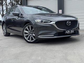 2019 Mazda 6 GL1032 Atenza SKYACTIV-Drive Machine Grey 6 Speed Sports Automatic Wagon.