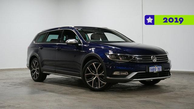 Used Volkswagen Passat 3C (B8) MY18 Alltrack DSG 4MOTION Wolfsburg Edition Welshpool, 2018 Volkswagen Passat 3C (B8) MY18 Alltrack DSG 4MOTION Wolfsburg Edition Blue 7 Speed