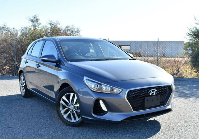 Used Hyundai i30 PD2 MY19 Active Ingle Farm, 2018 Hyundai i30 PD2 MY19 Active Grey 6 Speed Sports Automatic Hatchback