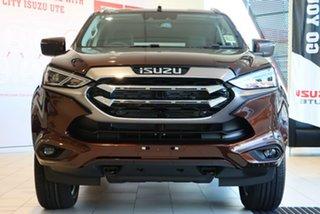 2021 Isuzu MU-X RJ MY21 LS-T (4x2) Jasper Brown 6 Speed Auto SEQ Sports Mode Wagon