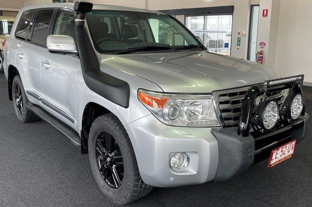 Used Toyota Landcruiser VDJ200R MY13 Sahara Winnellie, 2014 Toyota Landcruiser VDJ200R MY13 Sahara Silver 6 Speed Sports Automatic Wagon