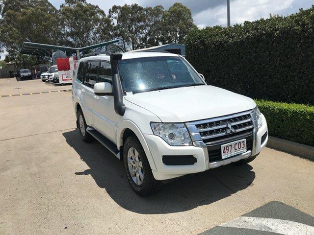 Used Mitsubishi Pajero NX MY16 GLX Acacia Ridge, 2016 Mitsubishi Pajero NX MY16 GLX White 5 speed Automatic Wagon