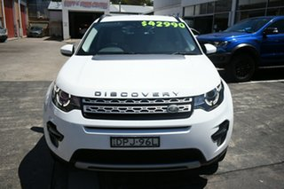2017 Land Rover Discovery Sport LC MY17 TD4 180 HSE 5 Seat White 9 Speed Automatic Wagon
