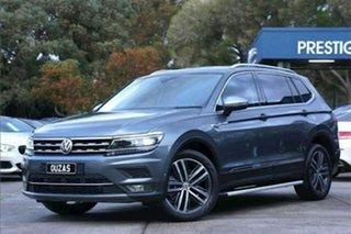 2018 Volkswagen Tiguan 5N MY18 140TDI Highline DSG 4MOTION Allspace Grey 7 Speed