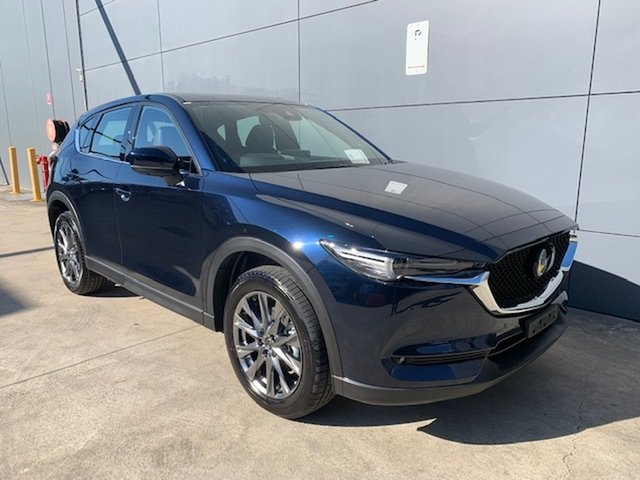 New Mazda CX-5 KF4WLA Akera SKYACTIV-Drive i-ACTIV AWD Alexandria, 2021 Mazda CX-5 KF4WLA Akera SKYACTIV-Drive i-ACTIV AWD Deep Crystal Blue 6 Speed Sports Automatic