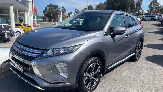Used Mitsubishi Eclipse Cross YA MY18 Exceed 2WD Maitland, 2018 Mitsubishi Eclipse Cross YA MY18 Exceed 2WD Grey 8 Speed Constant Variable Wagon