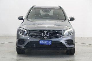 2017 Mercedes-Benz GLC-Class X253 GLC43 AMG 9G-Tronic 4MATIC Grey 9 Speed Sports Automatic Wagon.