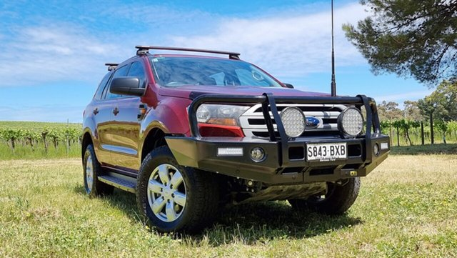 Used Ford Everest UA Ambiente Nuriootpa, 2016 Ford Everest UA Ambiente Red 6 Speed Sports Automatic SUV