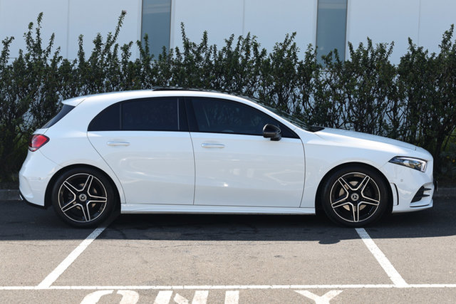 Certified Pre-Owned Mercedes-Benz A-Class W177 A200 DCT Berwick, 2019 Mercedes-Benz A-Class W177 A200 DCT Polar White 7 Speed Sports Automatic Dual Clutch Hatchback