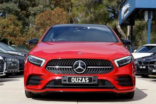 2019 Mercedes-Benz A-Class W177 A250 DCT 4MATIC AMG Line Red 7 Speed Sports Automatic Dual Clutch