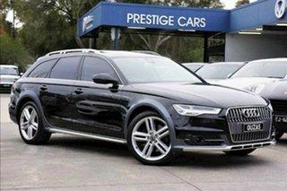 2015 Audi A6 4G MY16 Allroad S Tronic Quattro Black 7 Speed Sports Automatic Dual Clutch Wagon