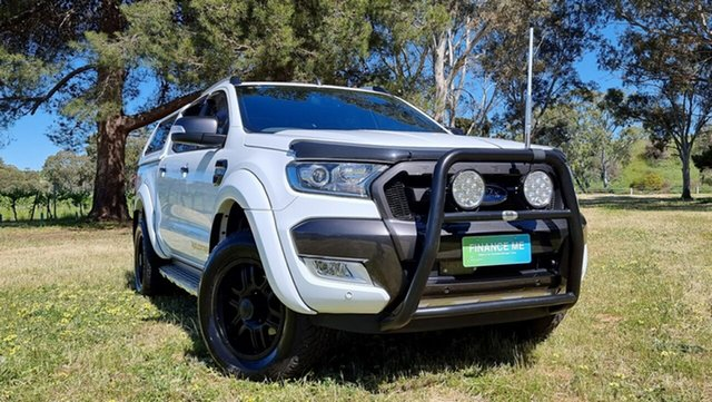 Used Ford Ranger PX MkII Wildtrak Double Cab Nuriootpa, 2017 Ford Ranger PX MkII Wildtrak Double Cab White 6 Speed Sports Automatic Utility