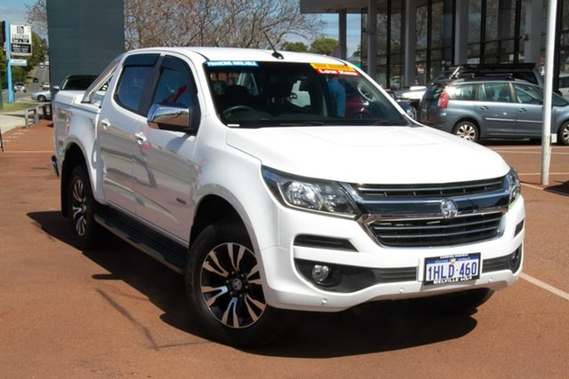 Used Holden Colorado RG MY17 LTZ Pickup Crew Cab Attadale, 2017 Holden Colorado RG MY17 LTZ Pickup Crew Cab White 6 Speed Sports Automatic Utility