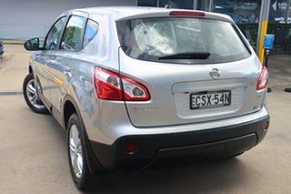 2013 Nissan Dualis J10 MY13 ST (4x2) Silver 6 Speed CVT Auto Sequential Wagon