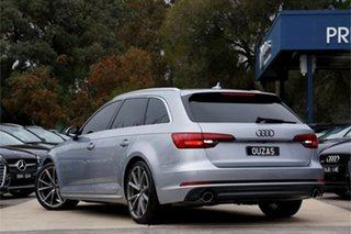 2016 Audi A4 B9 8W MY17 sport Avant S Tronic Quattro Silver 7 Speed Sports Automatic Dual Clutch
