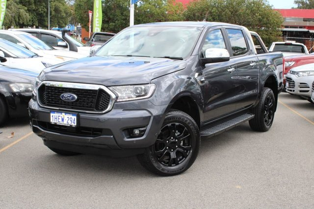 Used Ford Ranger PX MkIII 2021.25MY XLT Midland, 2020 Ford Ranger PX MkIII 2021.25MY XLT Grey 6 Speed Sports Automatic Double Cab Pick Up