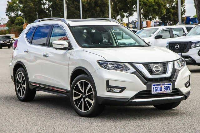 Used Nissan X-Trail T32 Series II Ti X-tronic 4WD Cannington, 2018 Nissan X-Trail T32 Series II Ti X-tronic 4WD White 7 Speed Constant Variable Wagon