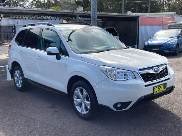 Used Subaru Forester S4 MY15 2.5i-L CVT AWD North Gosford, 2015 Subaru Forester S4 MY15 2.5i-L CVT AWD White 6 Speed Constant Variable Wagon