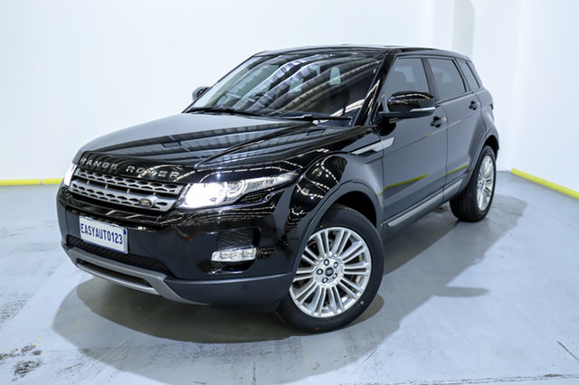 Used Land Rover Range Rover Evoque L538 MY13.5 Si4 CommandShift Pure Canning Vale, 2013 Land Rover Range Rover Evoque L538 MY13.5 Si4 CommandShift Pure Black 6 Speed Sports Automatic