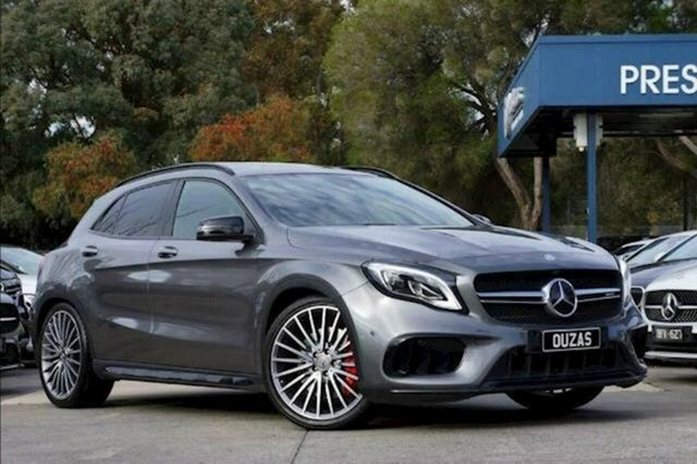 Used Mercedes-Benz GLA-Class X156 808MY GLA45 AMG SPEEDSHIFT DCT 4MATIC Balwyn, 2017 Mercedes-Benz GLA-Class X156 808MY GLA45 AMG SPEEDSHIFT DCT 4MATIC Grey 7 Speed
