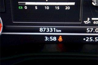 2016 Audi A4 B9 8W MY17 sport Avant S Tronic Quattro Moonlight Blue 7 Speed