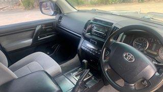2009 Toyota Landcruiser UZJ200R GXL (4x4) Silver 5 Speed Automatic Wagon